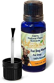 Naturasil Dog Warts Removal Treatment - 100% Natural, No Acids, Animal Safe, Pain Free - 15mL