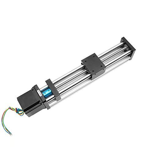 Guía Antrella CNC lineal Etapa Rail movimiento de deslizamiento del actuador Tabla Nema 23 Módulo de motor for la impresora Piezas 3d XYZ brazo robótico Kit (Size : 300mm)