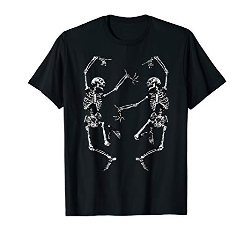 Dance of Death Macabre Skeleton Tshirt Skull Halloween 2018 T-Shirt