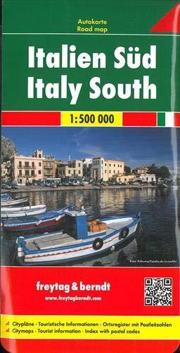Italien Süd, Autokarte 1:500.000: Wegenkaart 1:500 000 (freytag & berndt Auto + Freizeitkarten)