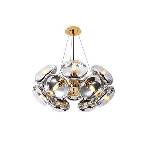 JJZXD Moderna Nordic Perla di Disegno di Vetro di Cristallo Hardware Salone della Decorazione della casa Chandelier a Letto Cucina