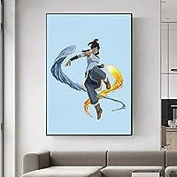 コラレジェンド画像プリントキャンバス壁アート絵画リビングルーム寝室壁画現代の家の装飾壁掛け絵画