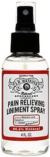 J.R. Watkins Natural Pain Relieving Liniment Spray, 4 Fluid Ounce