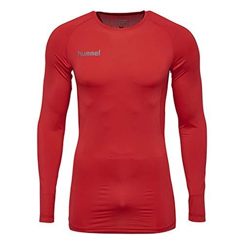 hummel Herren First Perf Ls Jersey T-Shirt, True Red, L