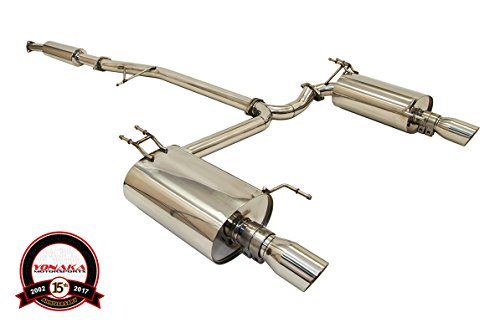 2004 acura tsx exhaust system - 1