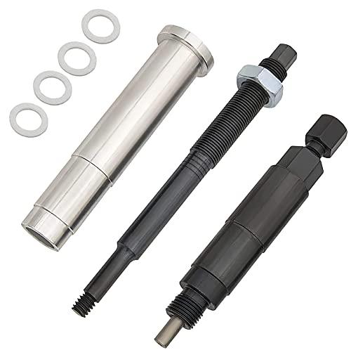 KIE Broken Spark Plug Remover Tool, Spark Plug Extractor, Spark Plug Extractor...