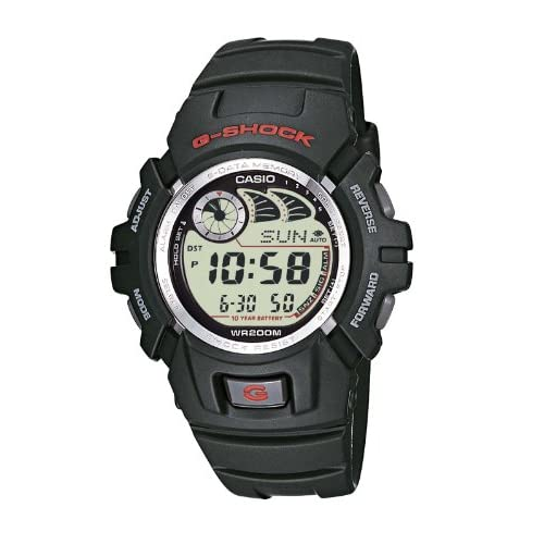 Casio G-SHOCK Orologio 20 BAR, Nero, Digitale, Uomo, G-2900F-1VER