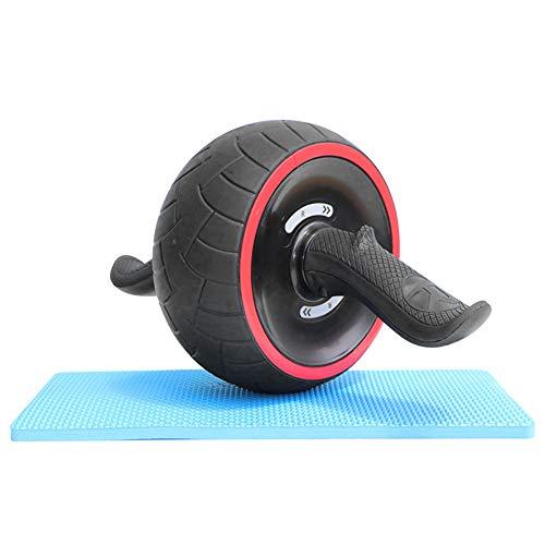 Bauchroller, Bauchtrainer mit doppeltem Rad, Ab Roller Resistance Abs Wheel mit Mat Core Training Fitnessgeräten für Männer und Frauen, Bauchmuskeltraining