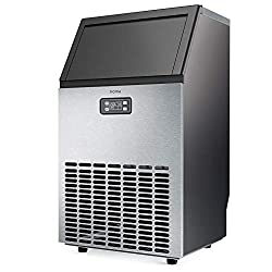 HOmeLabs Freestanding Commercial Ice Maker