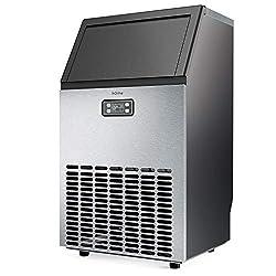 hOmeLabs Freestanding Commercial Ice Maker Machine – Best commercial ice maker