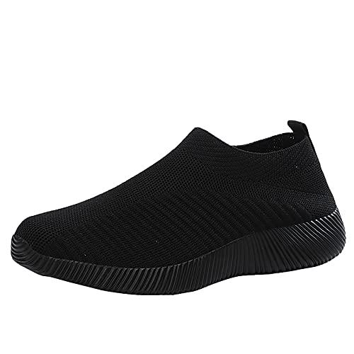 Frauen Mesh Sneaker Canvas Flache Schuhe Damen Beiläufige Sportschuhe Atmungsaktive Schuhen Soild Color Sommer Herbst Turnschuhe