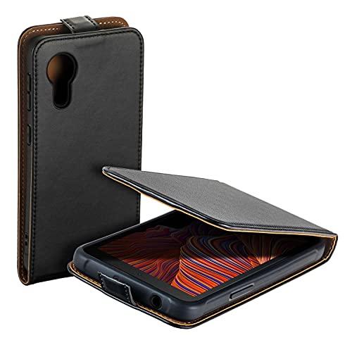 yayago Custodia con aletta per Samsung Galaxy Xcover 5, colore: Nero