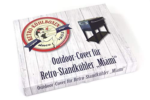 RETRO-KUEHLBOXEN.de 1021907 - afdekhoes voor staande koeler Miami en andere staande koelboxen, waterdichte afdekking, koelboxafdekking, beschermhoes, weerbestendig dekzeil