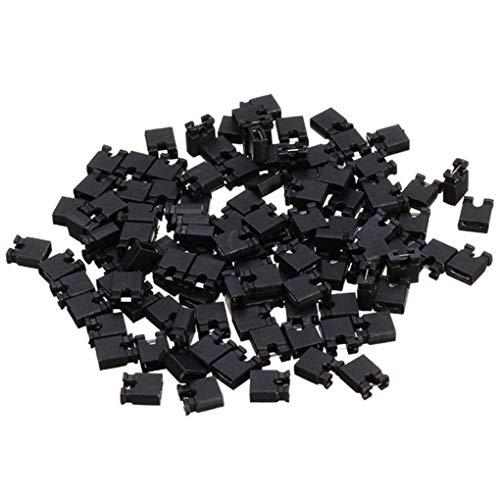 Yongse 500pcs 2.54mm Jumper Cap Kurzschlusskappe Pin Verbindungsblock