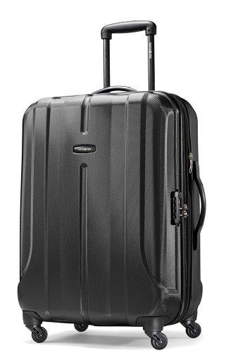 Samsonite Fiero 24' Hardside Spinner Luggage in Black