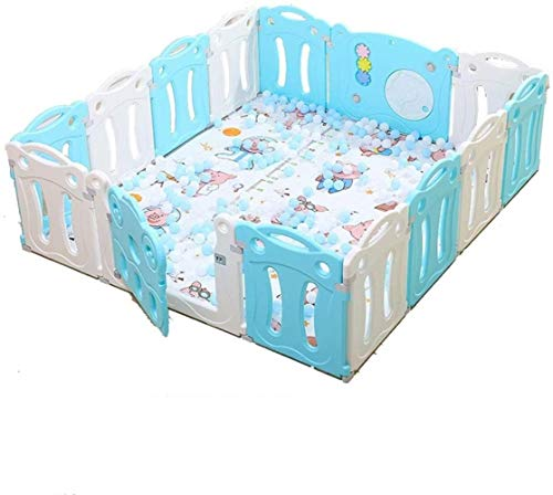 Best Bargain WYH Convenience 10/12/14/16/18panel Fence Baby Play Fence Indoor Home Playground Safety...