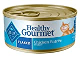 Blue Buffalo Healthy Gourmet Natural Adult Flaked Wet Cat Food Chicken 5.5-oz cans (Pack of 24)