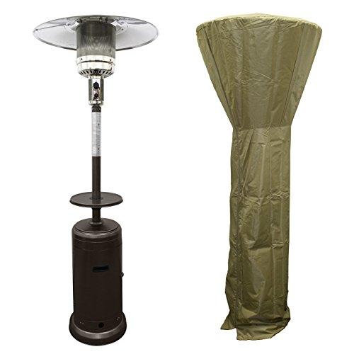PrimeGlo HLDS01-CG-A Tall Patio Propane Heater...