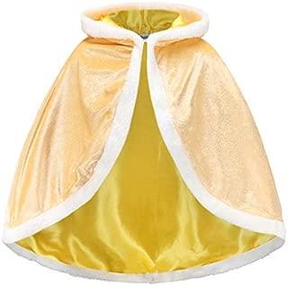 Invierno ni/ña ni/ños Biofieay Capa de Princesa con Capucha Navidad Carnaval Halloween para Fiestas Cosplay