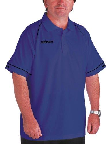 Unicorn Men'Match Polo-Shirt s 62 Blau - blau/schwarz