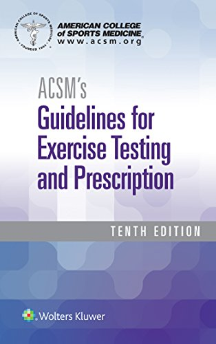 Compare Textbook Prices for ACSM's Guidelines for Exercise Testing and Prescription American College of Sports Medicine 10 Edition ISBN 9781496339072 by American College of Sports Medicine