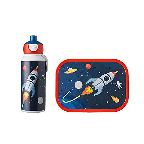 Mepal Campus Space Agua Inserto bento – Ideal para la Escuela y el Tiempo Libre – Apto para lavavajillas – Botella Fiambrera para niños, 1150