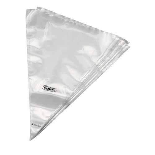 Kaiser Creativ Einweg Spritzbeutel, 20 Stück, mit Schneidhilfe, Kunststoff, zum Dekorieren, Garnierbeutel, Einwegspritzbeutel für Tüllen
