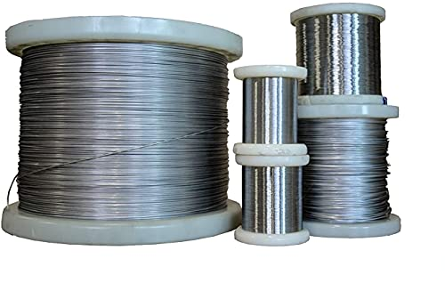 5 metri di filo di riscaldamento NiCr 80/20 filo di resistenza al nichel cromato, 0,07 mm (2.4869 / Cronix 80 / N06003)