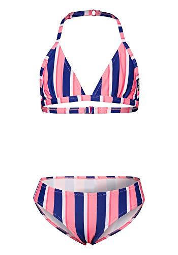 Chiemsee Mädchen Bikini Bikinis, Blue/Pink, 170/176