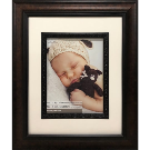 Bronze Scoop Portrait Frame with Mat by Studio Décor®