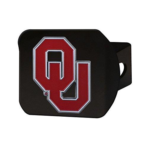 NCAA Oklahoma Sooners University of Oklahomacolor Hitch - black, Team Color, One Size