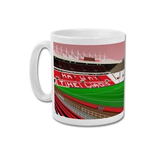 Sunderland AFC'Stadium of Light' - Home.Ground.Mugs Football Stadium Graphic Mug Gift Collection SAFC