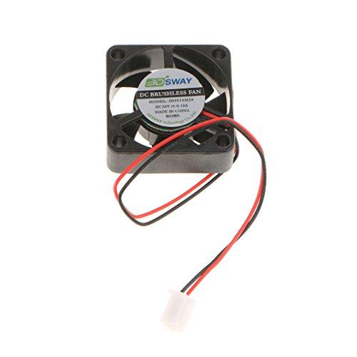 KESOTO Ventilador de Refrigeración Enfriador Hidráulico Silencioso Accesorios de Impresora 3D Alta Eficiencia