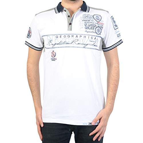 Geographical Norway Polo Kapable SS Men Ass A 100 White
