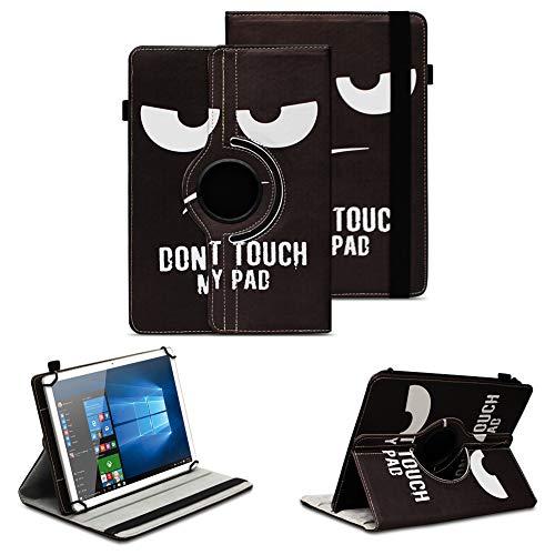 NAUC Tablet Schutzhülle kompatibel für Archos 70 Xenon Tasche Hülle mit Standfunktion 360° drehbar Kunst-Leder Verarbeitung Cover Universal Tablethülle Hülle, Farben:Motiv 1