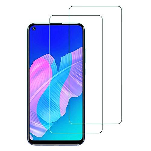 Widamin 2Pack, Panzerglas Schutzfolie für Huawei P40 Lite E/Huawei Y7p, Bildschirmschutzfolie, Hohe Auflösung Glas, [9H Festigkeit], [Crystal Clearity], [No-Bubble] Compatible für Huawei P40 Lite E