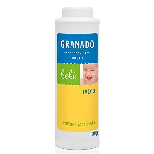 Talco Bebê, Granado, Branco, 100g