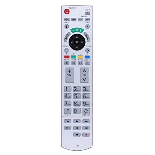ASHATA Control Remoto de TV para Panasonic N2QAYB, Control Remoto de Repuesto para Panasonic n2qayb000928 / n2qayb000842 / n2qayb000840 / n2qayb00101 / n2qayb000074 / n2qayb000863 / n2qayb001109