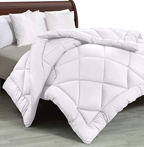Utopia Bedding - All Season Quilted Duvet Insert - Down Alternative Comforter - Twin/Twin XL - White