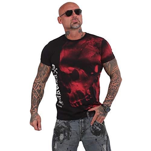 Yakuza Herren Dead End T-Shirt,Schwarz,5XL