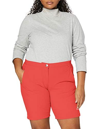Jack Wolfskin Hilltop Trail Shorts Femme, Tulip Red, FR : L (Taille Fabricant : 42)