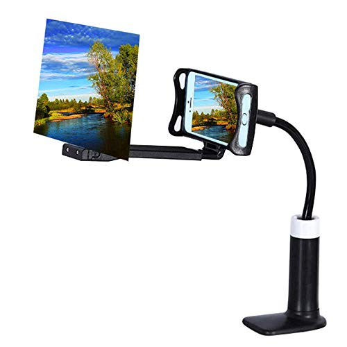 Mobile Phone HD Projection Bracket Adjustable Flexible All Angles 360 Rotating Phone Tablet Holder