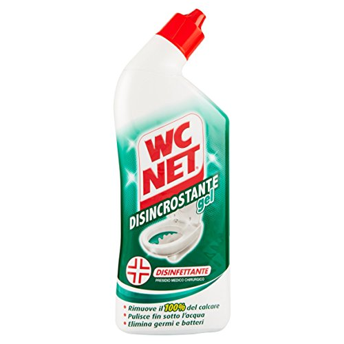 Wc Net - Disincrostante Gel Disinfettante - 4 flaconi da 700 ml [2800 ml]