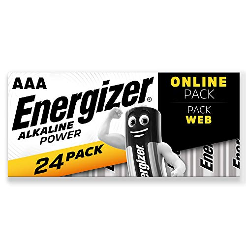 Energizer Batterien AAA, Alkaline Power, 24 Stück
