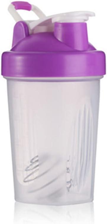Shaker Bottle Blender Classic Loop Top & Whisk Ball,Secure Screw-On Lid, Stay Open Flip Cap,Leak Proof,BPA Free,18-Ounce