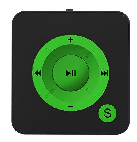 BERTRONIC Made in Germany BC06 Royal MP3-Player, 16 GB 15 Stunden Wiedergabe | Portabler Player mit Clip | Audio-Player für Sport, Fitness, Joggen mit Micro SD-Kartenslot