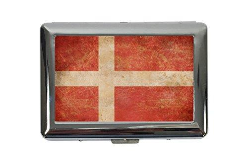portasigarette in Metallo Vacanza Agenzia Viaggi Danimarca Stampato
