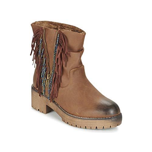 Coolway Barina Botines/Low Boots Mujeres Camel - 36 - Botas De Caña Baja Shoes