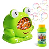 Ltteaoy Bubble Machine for kids,Automatic Bubble Blower with Solutions and High Output 500