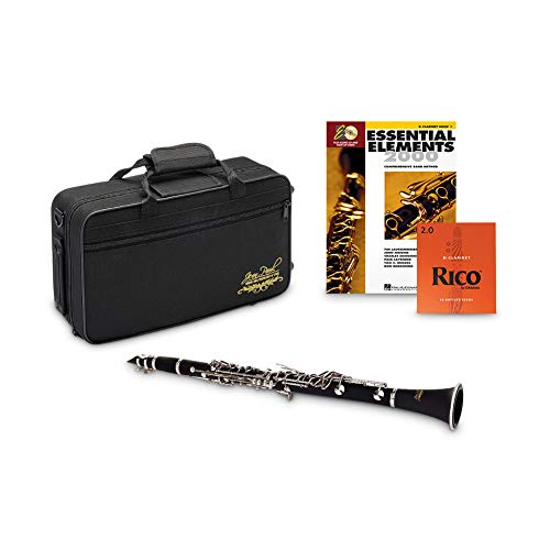 Jean Paul USA CL-300 Student Clarinet with Rico Bb Reeds Strength 2.0 (10 pack)...